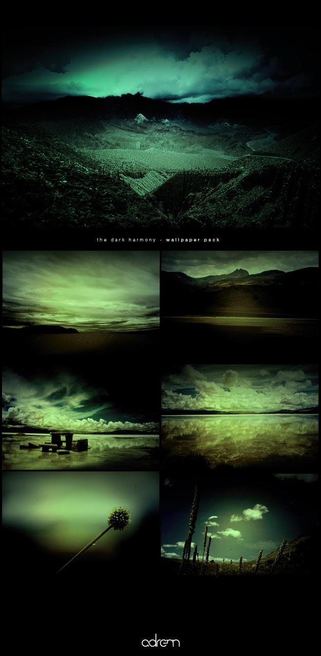 dark harmony - wallpaper pack by adrenn