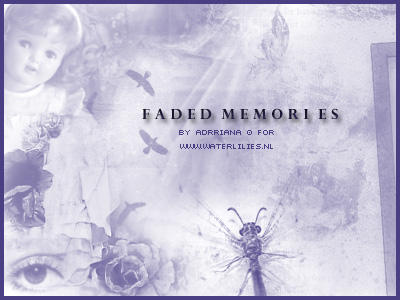 Faded Memories by generosa