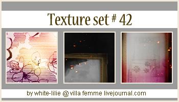 Texture set 42 by generosa