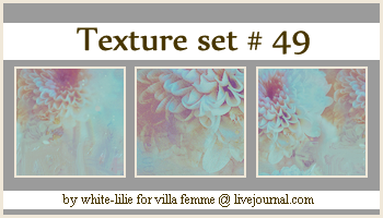Texture set 49 by generosa