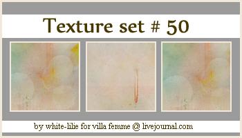 Texture set 50 by generosa
