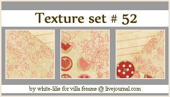 Texture set 52 by generosa