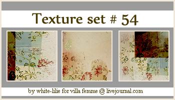 Texture set 54 by generosa