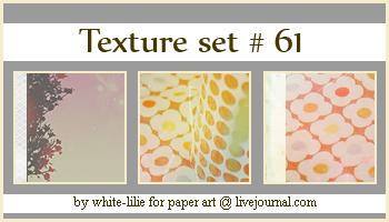 Texture set 61 by generosa