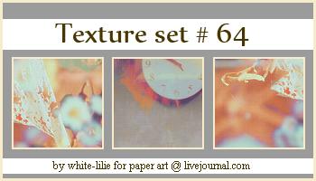 Texture set 64 by generosa