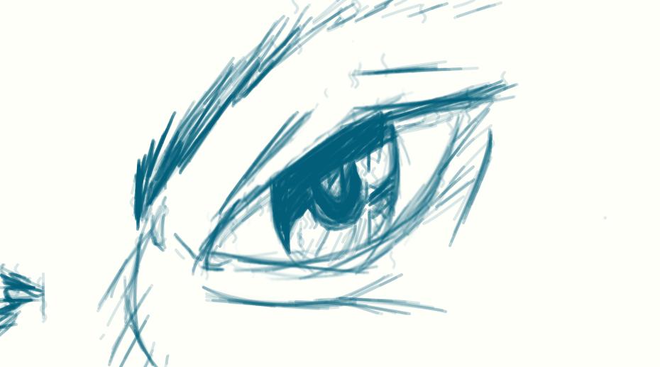 an eye! by XJumpinJellyBeansX