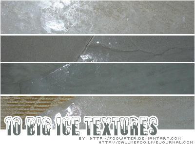 10 big Ice Textures