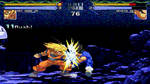 SSJ Goku Z2 beta 3.3 MUGEN combo animated gif #1
