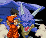 Mystic Gohan with (adult) Icarus winpose!
