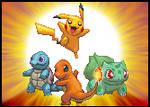 Pokemon generation 1 group