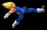 SSJ Vegeta - new standing Strong Kick