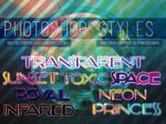 8 Photoshop Styles - FREE
