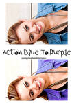Action Blue to Purple