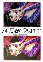 Action Purrr by AmazingObsession