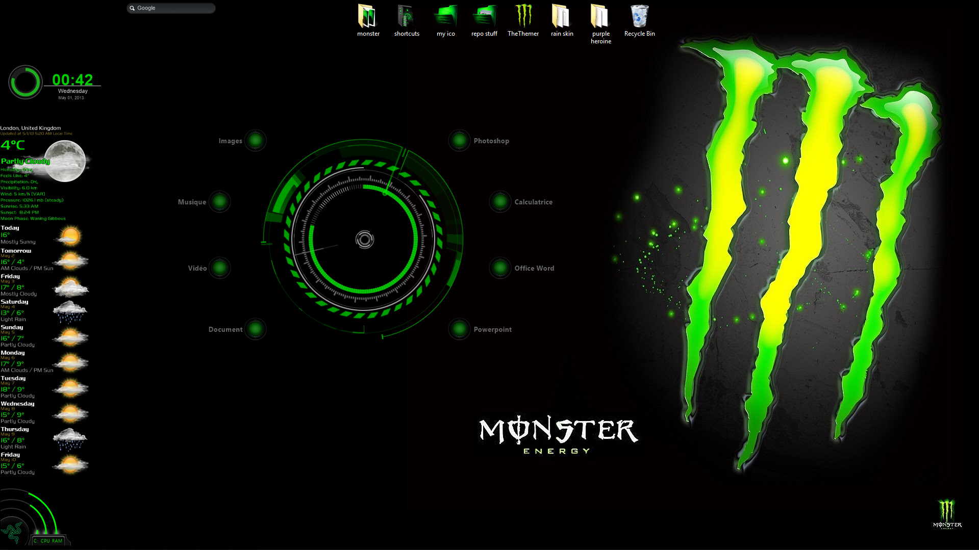 Monster energy theme pack by thethemer on deviantart for Energy windows