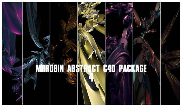 MrRobin abstract c4d package 4