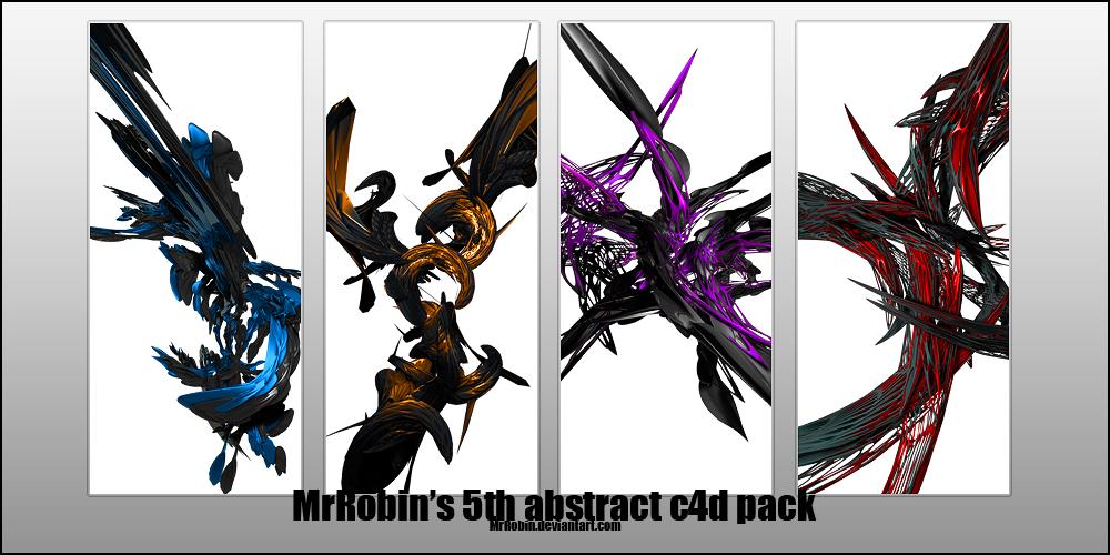 MrRobin abstract c4d pack 5 by MrRoBiN