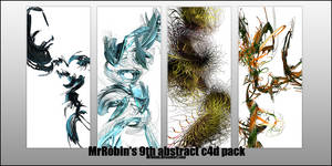MrRobin abstract c4d pack 9