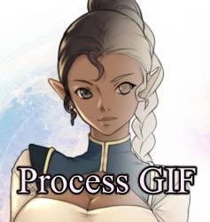 Art Process GIF / Step by Step