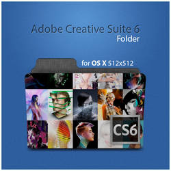 Adobe Creative Suite 6 folder by D1m22
