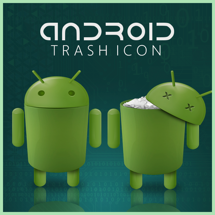 Android trash icon by D1m22 on DeviantArt