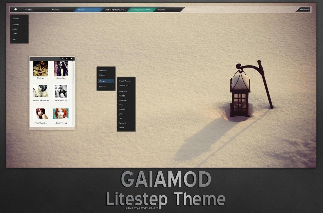 .gaiamod LS by oowlcityy