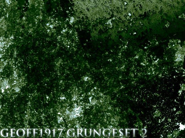 G3 GrungeSet 2 by geoff1917