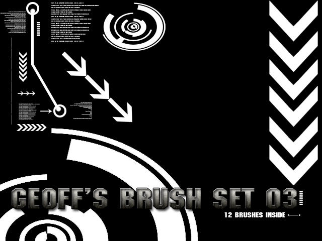 Geoff1917 brush set 03 by geoff1917