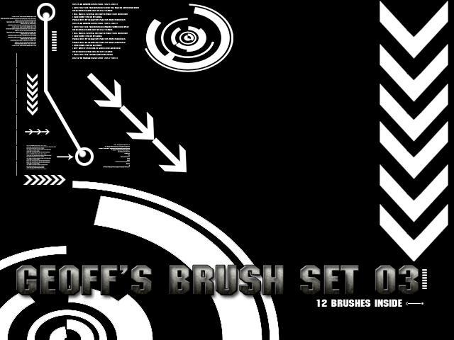 Geoff1917 brush set 03 by geoff1917