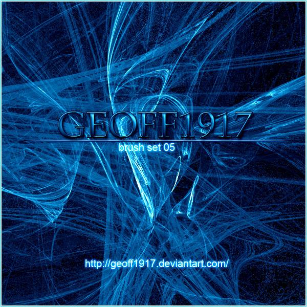 Geoff1917's Brushset 05 by geoff1917