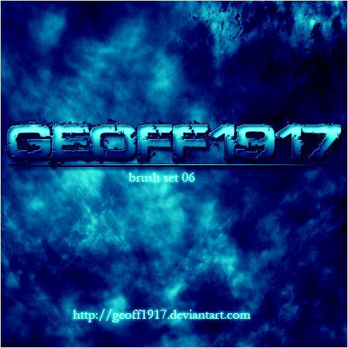 Geoff1917's Brushset 06 by geoff1917