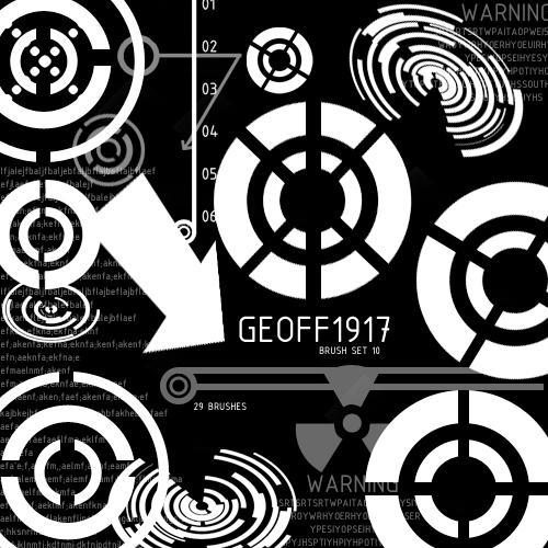 Geoff1917's Brushset 10 by geoff1917
