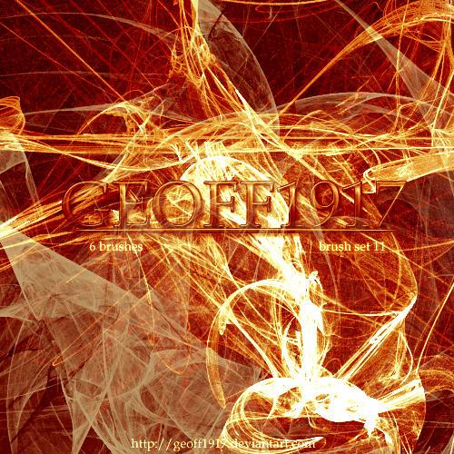 Geoff1917's Brushset 11 by geoff1917