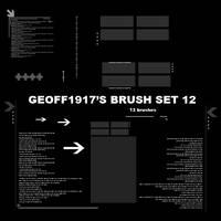 Geoff1917's Brushset 12