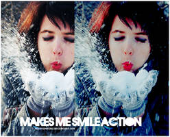 Makes me smile action by Hesavampire