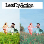 Lets fly action