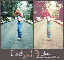 I need you PS action by Hesavampire