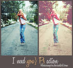 I need you PS action