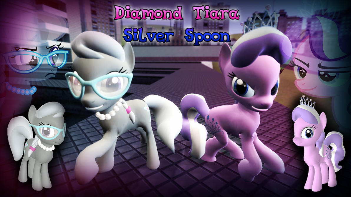 [DL] Diamond Tiara - Silver Spoon by CobbaltCO