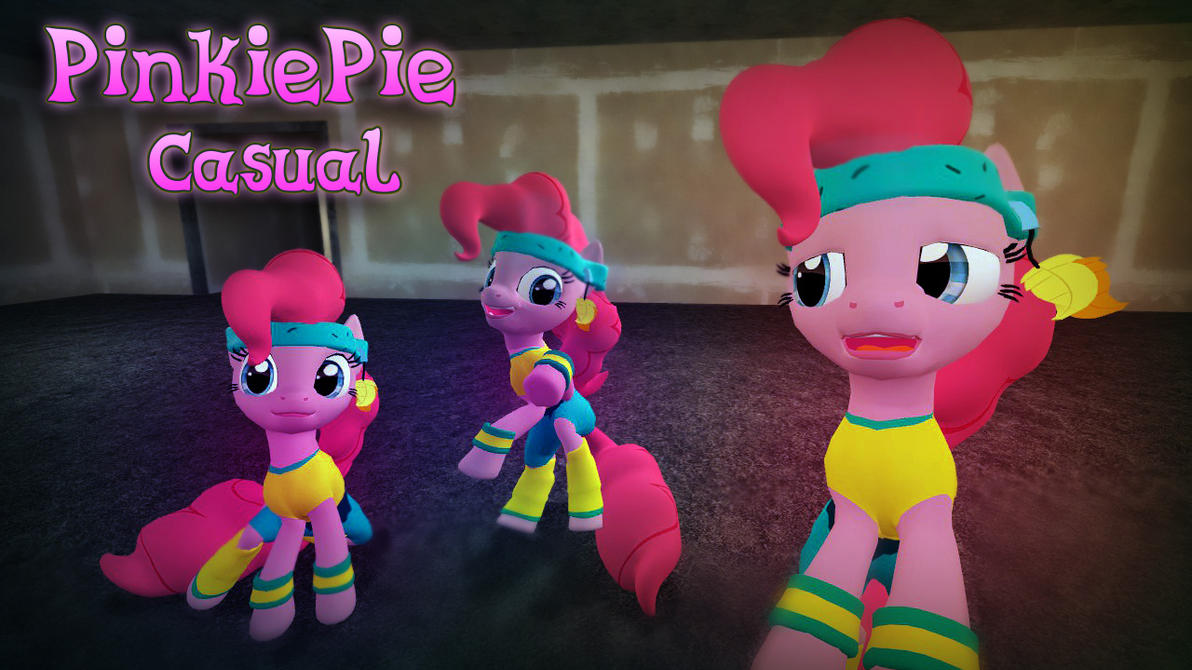 [DL] PinkiePie Casual by CobbaltCO
