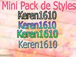 Mini pack de styles-keren1610