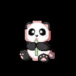 F2U Animated Pastel Kawaii Panda