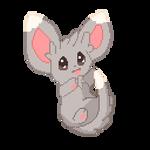 F2U Animated - Pokemon: Minccino Pixel Art