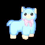 F2U Animated Alpaca Pixel Art