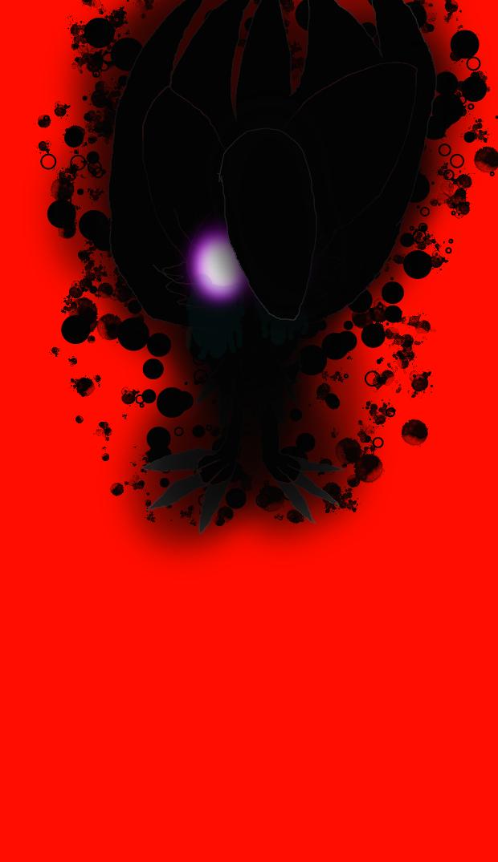Shadow Girl the Midnight Lycanroc (Creepypasta OC)