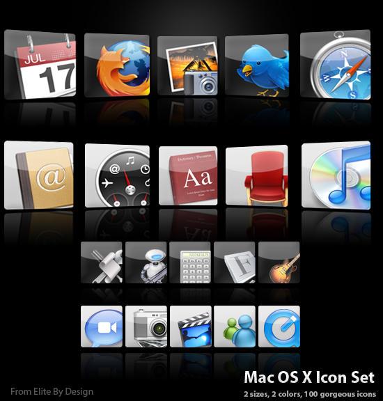 Mac OS X Icon Set v.1