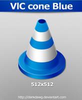 VlC cone Blue by darkdawg