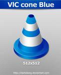 VlC cone Blue