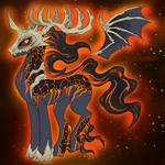 MLP Fire and Death Theme Adopt GONE by Kasara-Designs