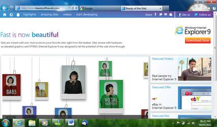 Internet Explorer 9 Theme by Bartmelo